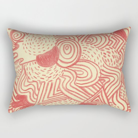 Heat waves Rectangular Pillow