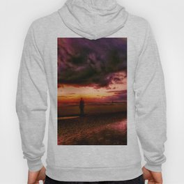 Another place at sunset Hoody