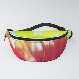 Abstract Of Tulips Fanny Pack