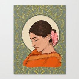 Sad Girl Canvas Print