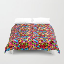 A Handful of Candy Duvet Cover