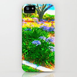 Rainbow Garden iPhone Case