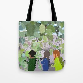 Bushsaurs Tote Bag