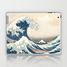 The Great Wave off Kanagawa by Katsushika Hokusai from the series Thirty-six Views of Mount Fuji Laptop & iPad Skin