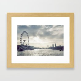 London... Framed Art Print