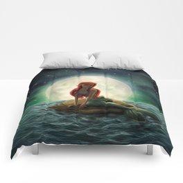 La Sirenita Comforters