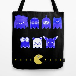 pacman inspired Tote Bag
