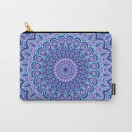 Purple Passion - Mandala Art Carry-All Pouch