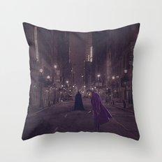Gotham Nights Throw Pillow