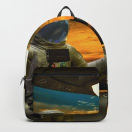 Hitchinghiking Across The Universe Backpack