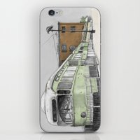 hook iPhone & iPod Skins featuring Red Hook by Lane Scarano