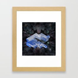 World Net Framed Art Print