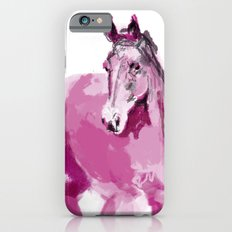 Pink horse iPhone 6s Slim Case