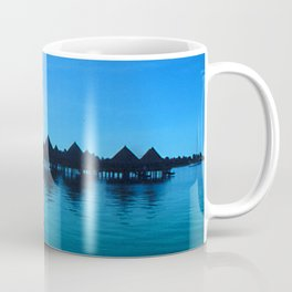Mindfulness Cloud Reflections in Secret Tahiti Cove Coffee Mug