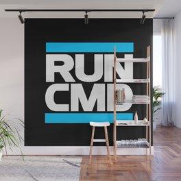 run CMD Wall Mural