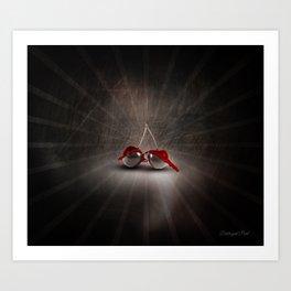 Cherry Splash Art Print