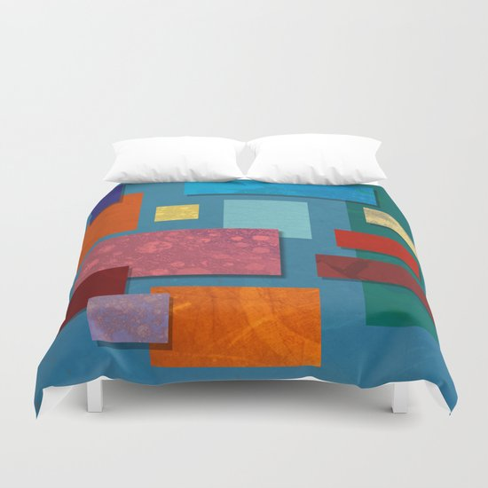 Abstract #324 Duvet Cover