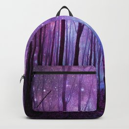 Fantasy Forest Path Purple Pink Backpack