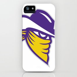 Bandit Covered Face Icon iPhone Case