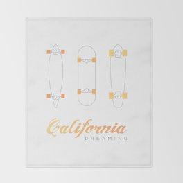 California Dreaming Throw Blanket