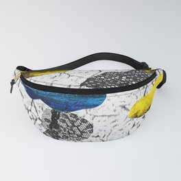 Space collage Fanny Pack