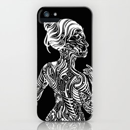 Opposite Maori iPhone Case
