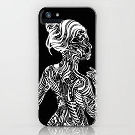 Opposite Maori iPhone Case