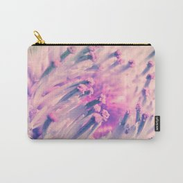 PINK THISTLE BLOOM IV Carry-All Pouch