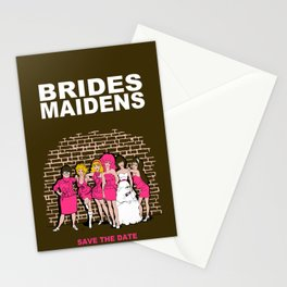 Brides Maidens Stationery Cards
