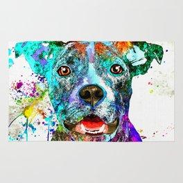 American Pit Bull Terrier Rug