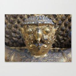 Golden Garuda Canvas Print