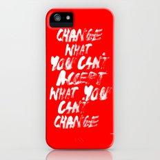 Accept / Change Slim Case iPhone (5, 5s)