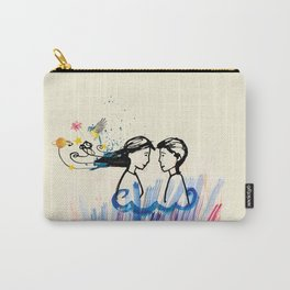 The cosmic look of love Carry-All Pouch
