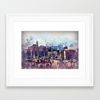 rome Framed Art Prints featuring Rome by jbjart