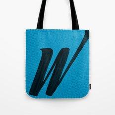 (W) Tote Bag