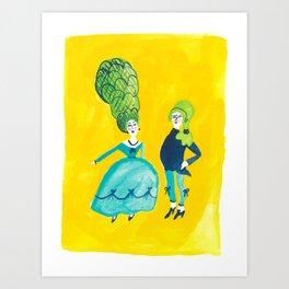 Louis & Marie Art Print