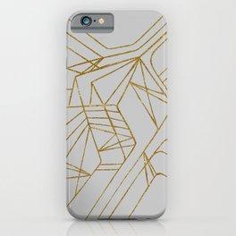 Maze GLD iPhone Case
