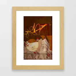 NYC Rooftops Framed Art Print