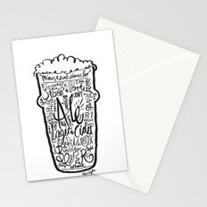 For the Love of Beer Stationery Cards