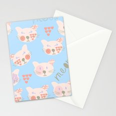 Cats 3er Stationery Cards