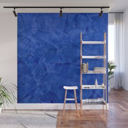 Pretty Blue Cases - Ombre - Stucco - Pillow - Classic Blue - Shower Curtains Wall Mural