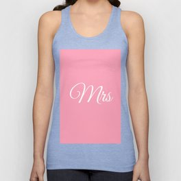 Mrs Unisex Tank Top