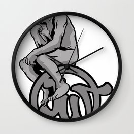 Thinking Man Wall Clock