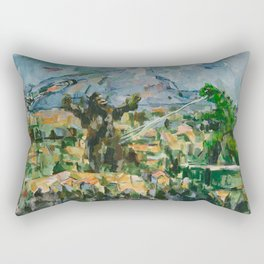 Mont Sainte Kaiju Rectangular Pillow