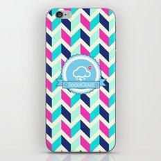SocialCloud Pattern iPhone & iPod Skin