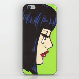 Mod Crying Comic Girl iPhone Skin