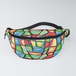 Stained-glass Fanny Pack