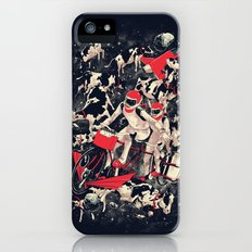 Space Dairy Farming Slim Case iPhone SE