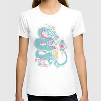 dessert T-shirts featuring Dessert Dragon by Heartjack