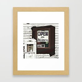 Final Days Framed Art Print
